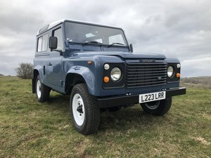 1993 Land Rover Defender 90 200 TDI fully restored