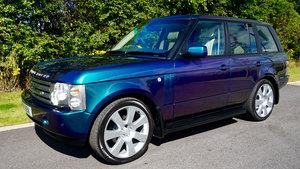 2003 Range Rover Autobiography Spectral Blue, Rear TVs