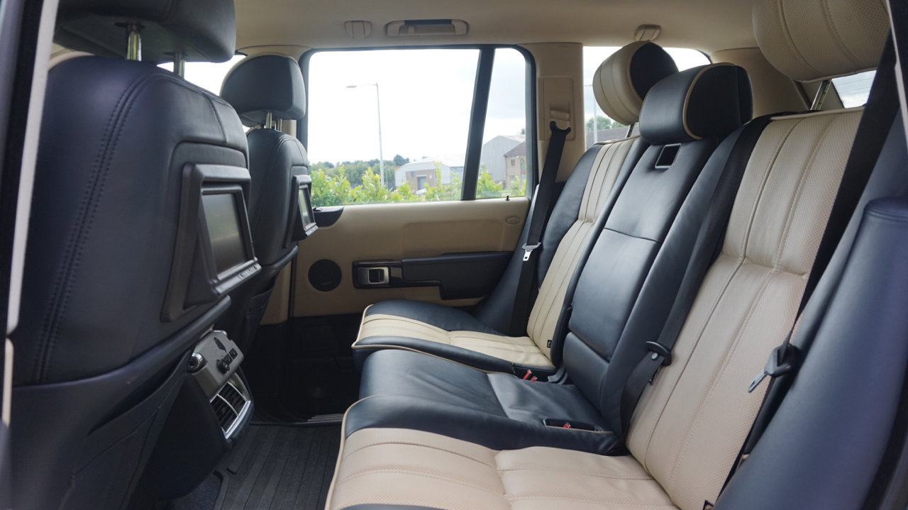 2003 Range Rover Autobiography Spectral Blue, Rear TVs For Sale (picture 6 of 6)