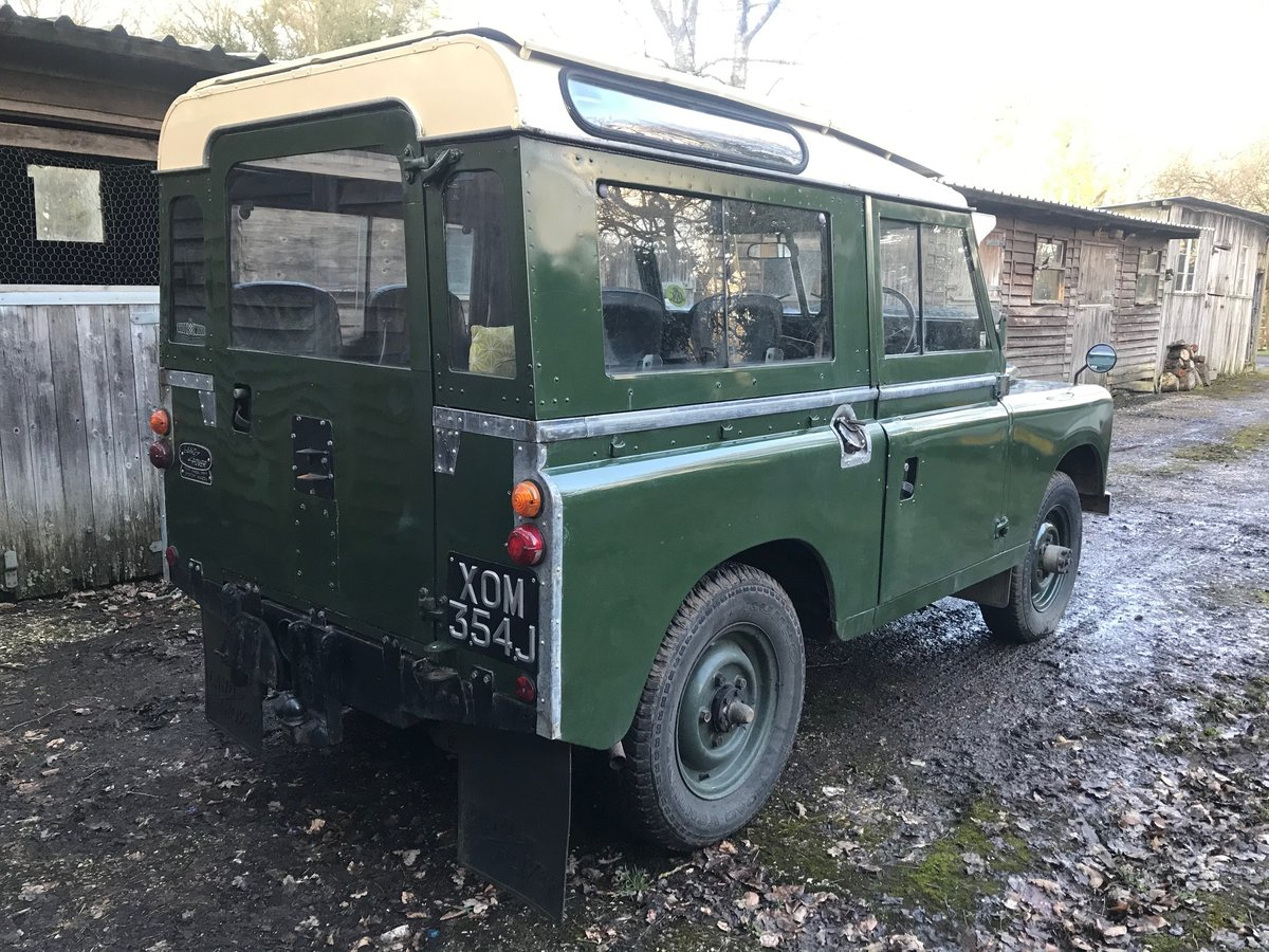1971 Land Rover Series 2a 88 SOLD (picture 6 of 6)