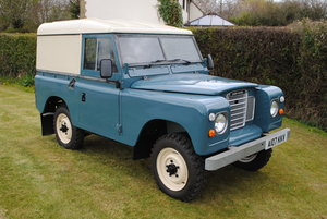 1984 Land Rover Series 3 Petrol 2.5 Only 39k miles