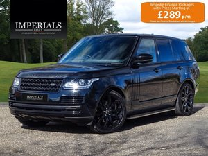 2017 Land Rover  RANGE ROVER  3.0 TDV6 VOGUE EU6 VAT Q 8 SPEED AU