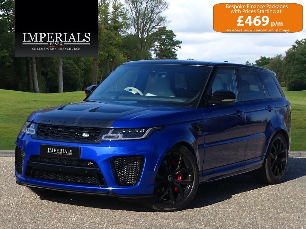 2019 Land Rover  RANGE ROVER SPORT  SVR 5.0 V8 SUPERCHARGED 8 SPE For Sale (picture 1 of 24)