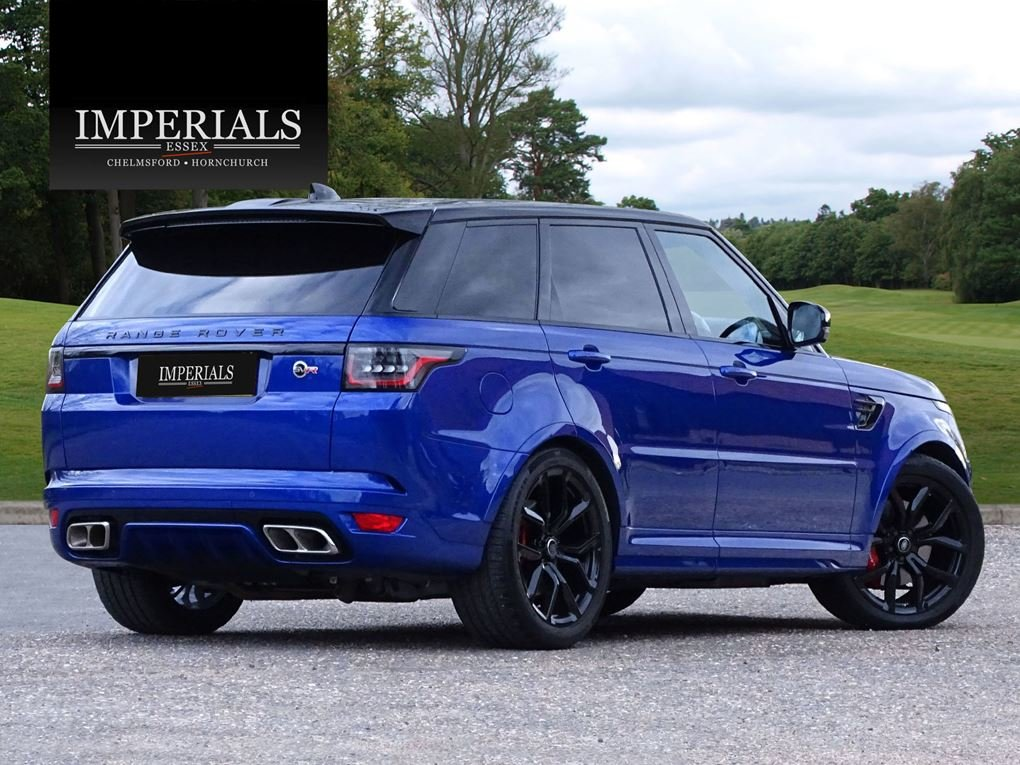 2019 Land Rover  RANGE ROVER SPORT  SVR 5.0 V8 SUPERCHARGED 8 SPE For Sale (picture 4 of 24)
