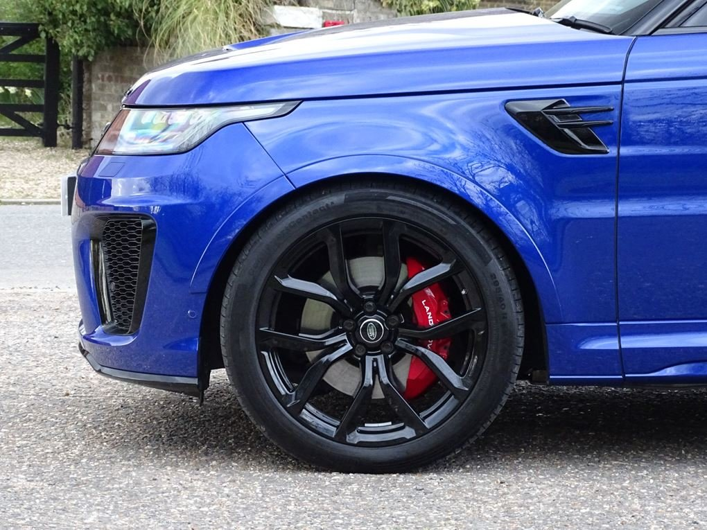 2019 Land Rover  RANGE ROVER SPORT  SVR 5.0 V8 SUPERCHARGED 8 SPE For Sale (picture 5 of 24)