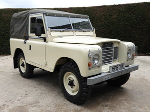 1981 LAND ROVER SERIES 3 88