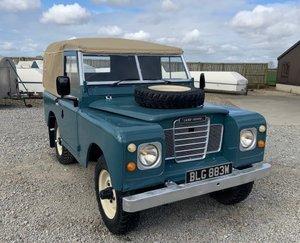 1971 Land Rover® Series 3 *Tax & MOT Exempt Ragtop* (BLG)