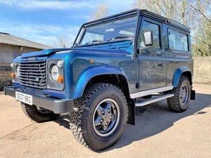 1998 utterly superb Defender 90 50th anniversary 4.0V8 auto