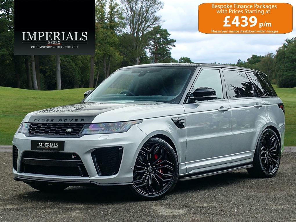 2018 Land Rover  RANGE ROVER SPORT  SVR 5.0 V8 SUPERCHARGED 8 SPE For Sale (picture 1 of 6)