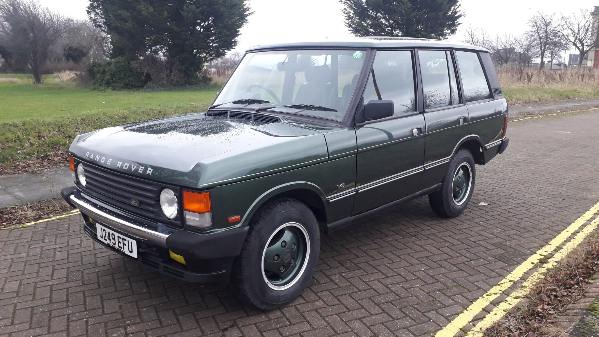 RANGE ROVER CLASSIC VOUGE SE 1991 RUST FREE JAPANESE IMPORT  SOLD (picture 1 of 6)