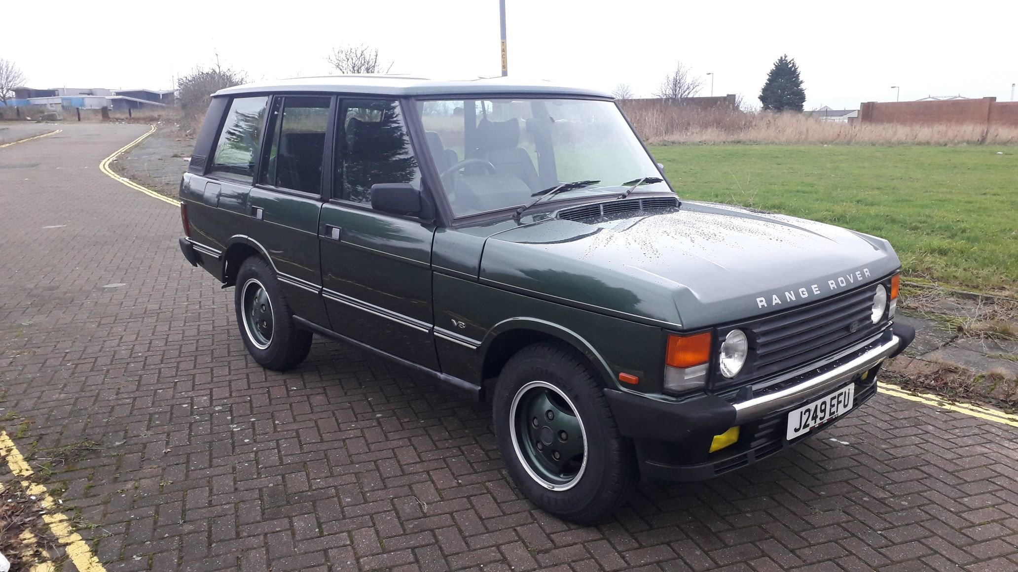 RANGE ROVER CLASSIC VOUGE SE 1991 RUST FREE JAPANESE IMPORT  SOLD (picture 2 of 6)