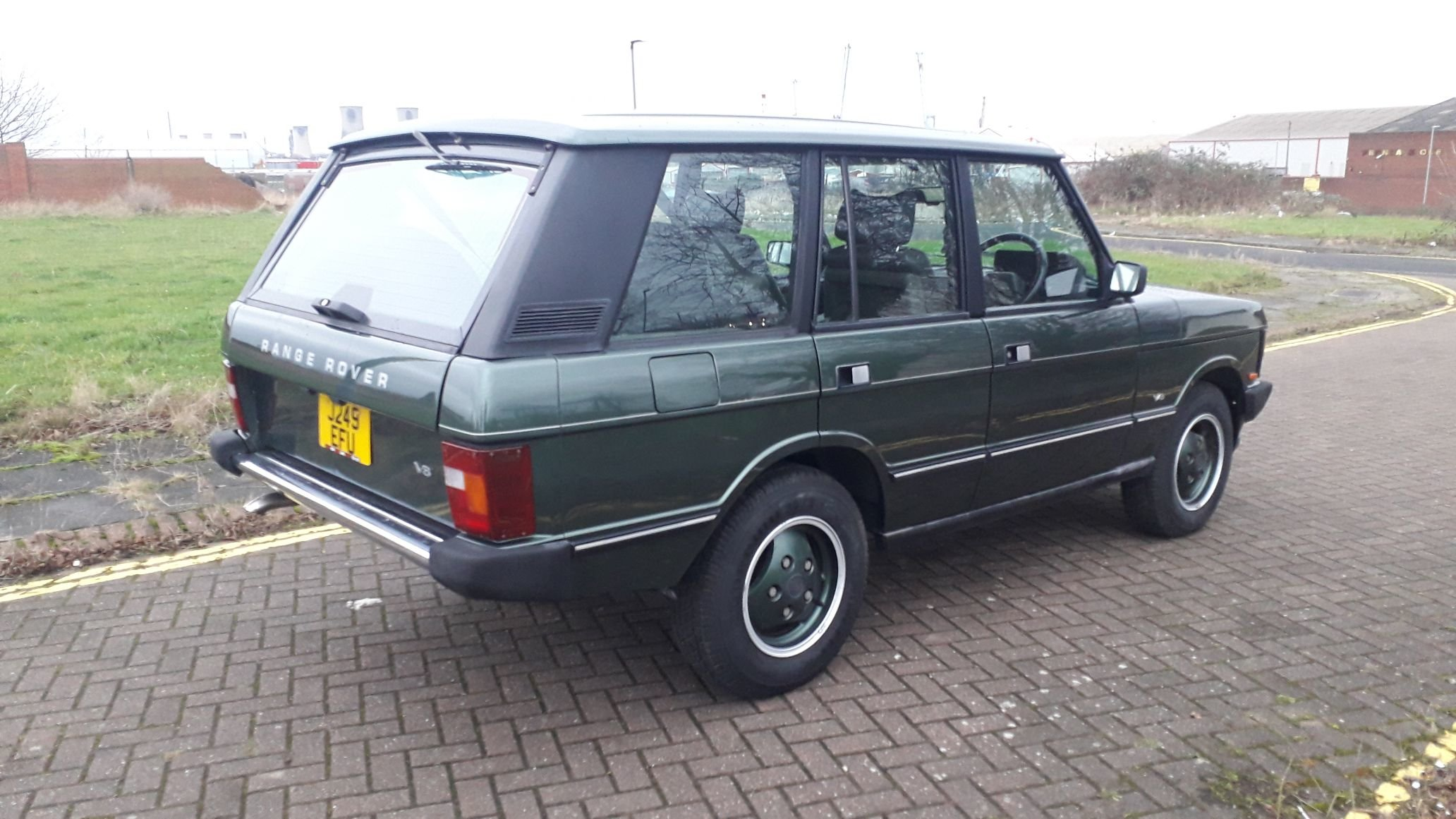 RANGE ROVER CLASSIC VOUGE SE 1991 RUST FREE JAPANESE IMPORT  SOLD (picture 4 of 6)