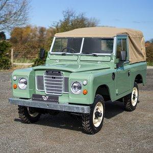 """1982 Land Rover Series 3 88"""" Nut & Bolt Restoration For Sale"""