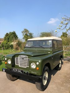 1972 Land Rover Series 3 Diesel - Totally Restored! For Sale