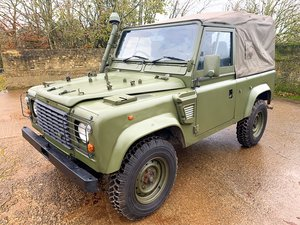 Picture of 1998 Defender 90 300TDi XD Wolf soft top REMUS upgrade SOLD