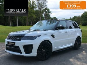 2019 Land Rover  RANGE ROVER SPORT  3.0 SDV6 HSE DYNAMIC WITH SVR For Sale