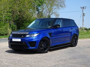 Land Rover  RANGE ROVER SPORT  SVR 5.0 V8 SUPERCHARGED AUTO