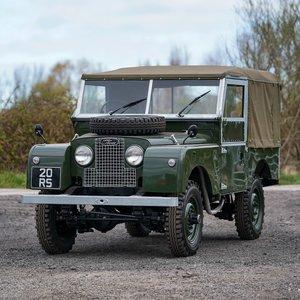 """1955 Land Rover Series 1 86"""" Nut & Bolt Restoration"""