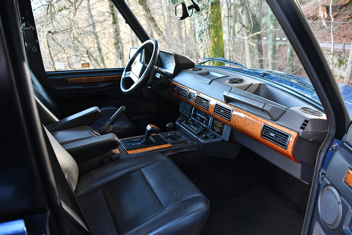 1993 Swiss delivery with 138'000 driven km For Sale (picture 5 of 6)