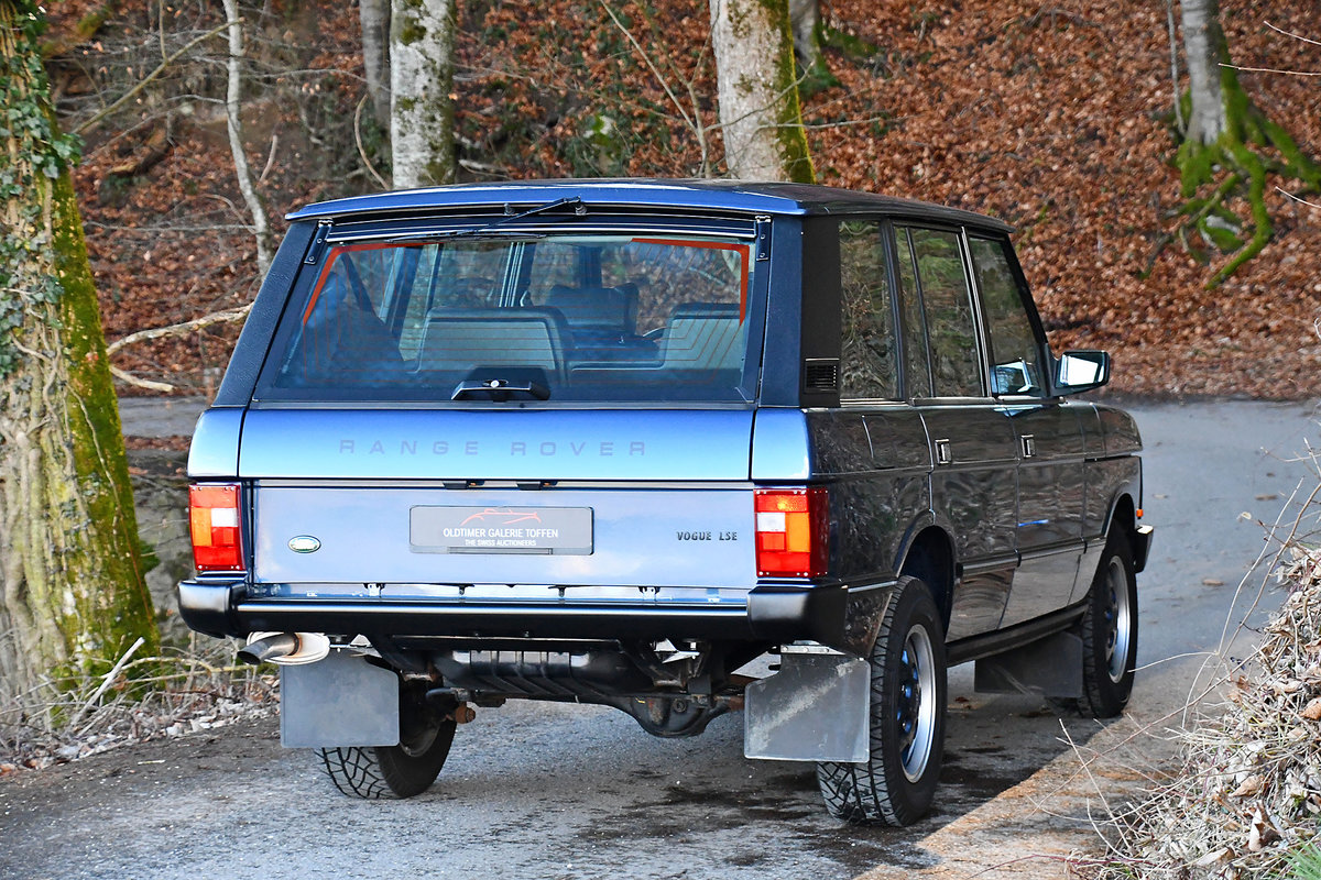 1993 Swiss delivery with 138'000 driven km For Sale (picture 6 of 6)