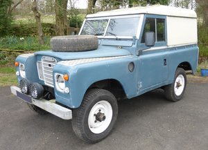 1969 LANDROVER SERIES SWB 200 TDi HARD TOP
