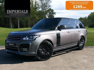 2014 Land Rover  RANGE ROVER  5.0 V8 SUPERCHARGED AUTOBIOGRAPHY W