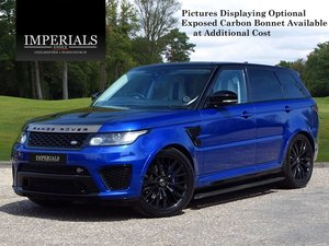 2016 Land Rover  RANGE ROVER SPORT  SVR 5.0 V8 SUPERCHARGED 8 SPE For Sale