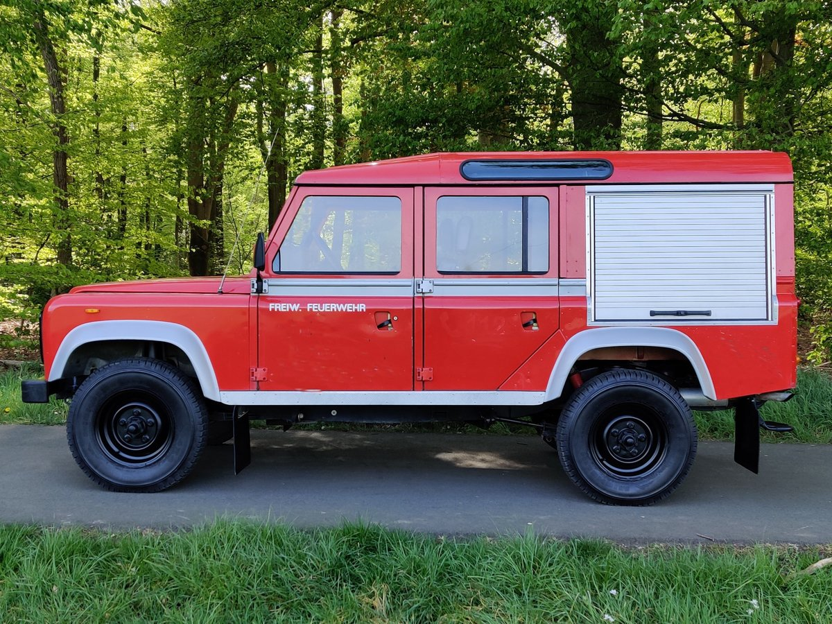 1986 Landrover 110 V8 Stationwagon, 8700 km, left hand drive For Sale (picture 2 of 6)