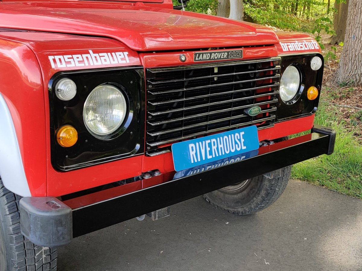 1986 Landrover 110 V8 Stationwagon, 8700 km, left hand drive For Sale (picture 5 of 6)