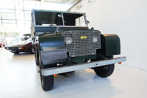 Picture of 1949 Very early RHD LR S 1 'Aluminum Bulkhead', prod. no.1460 SOLD