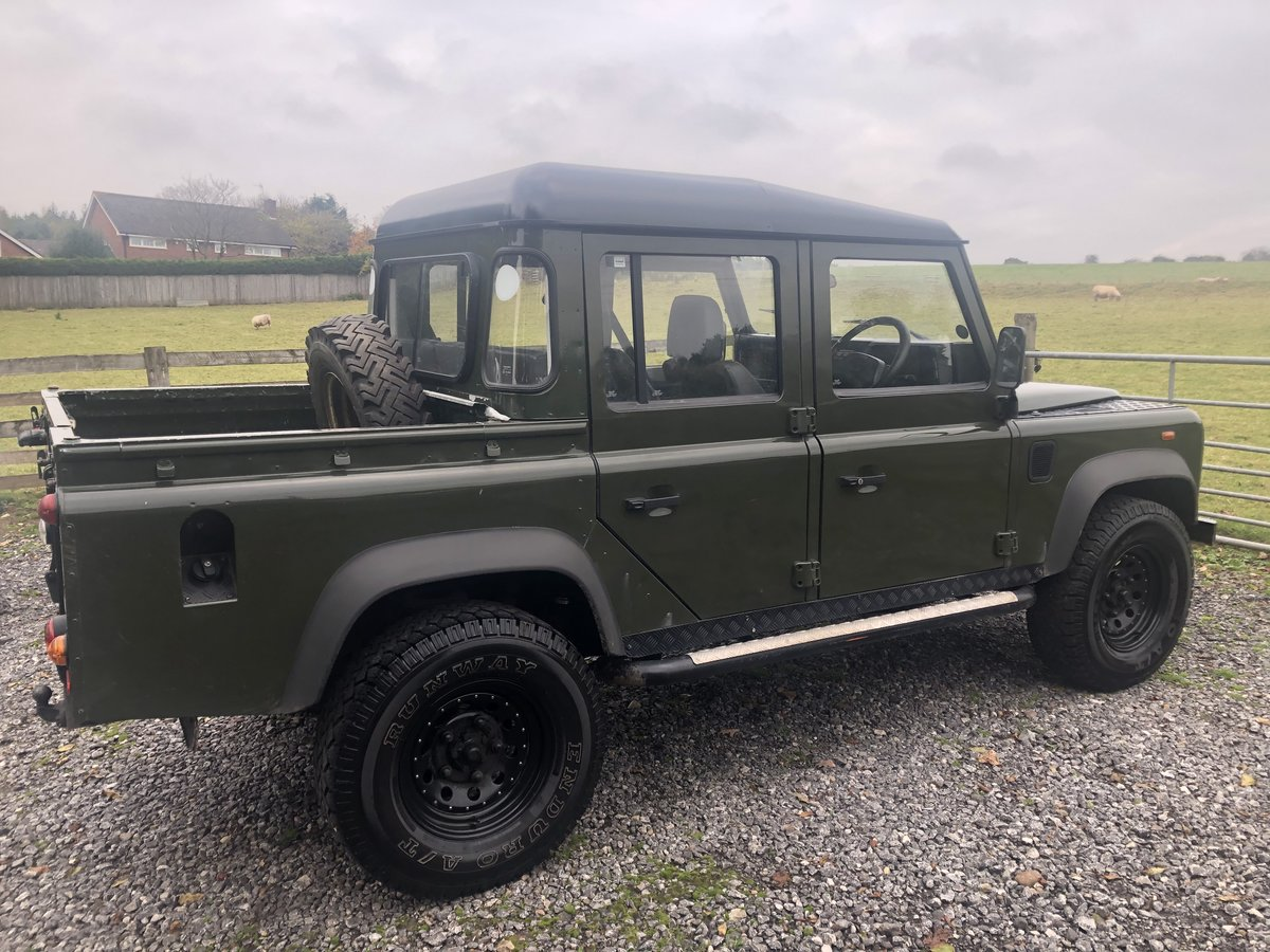 2007 Defender crew cab pickup td5 For Sale (picture 1 of 6)