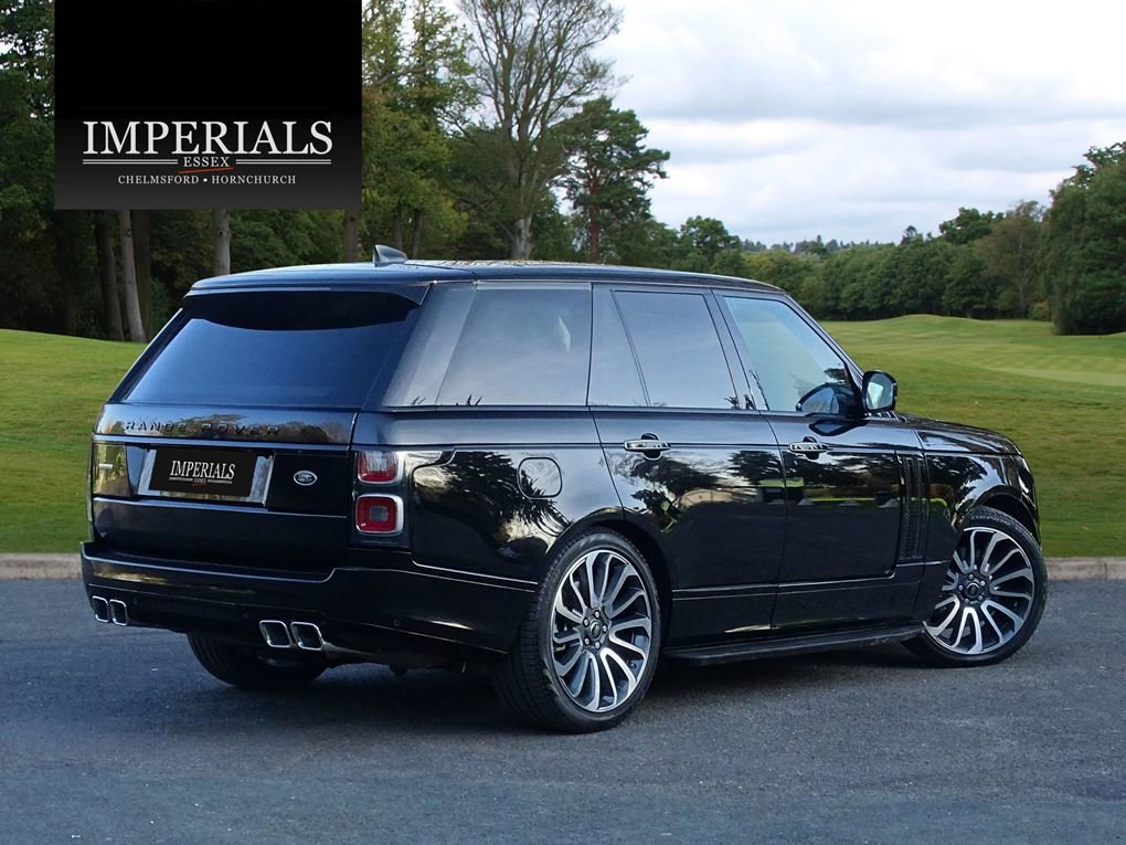 2019 Land Rover  RANGE ROVER  5.0 V8 SUPERCHARGED AUTOBIOGRAPHY W For Sale (picture 4 of 24)