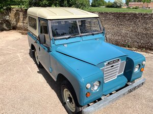 smart and useable  1973 Series III 88in diesel 7 seater  SOLD