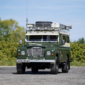 """1979 Land Rover Series 3 109"""" Camper Conversion 44,000 Miles from For Sale"""