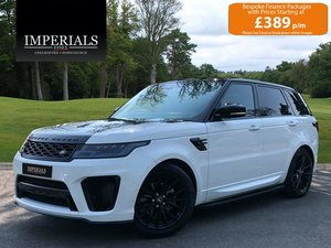 2018 Land Rover  RANGE ROVER SPORT  3.0 SDV6 HSE WITH IMPERIALS S