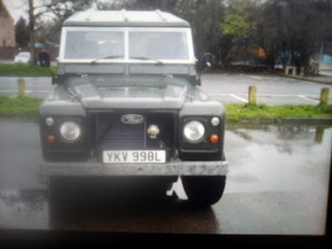 1972 Classic land rover