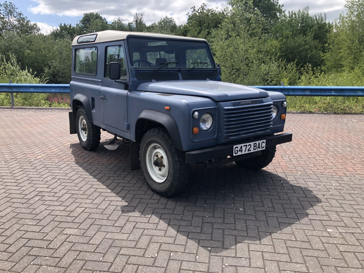 1989 Land Rover Defender 90 CSW V8 Factory Air Con For Sale (picture 1 of 6)