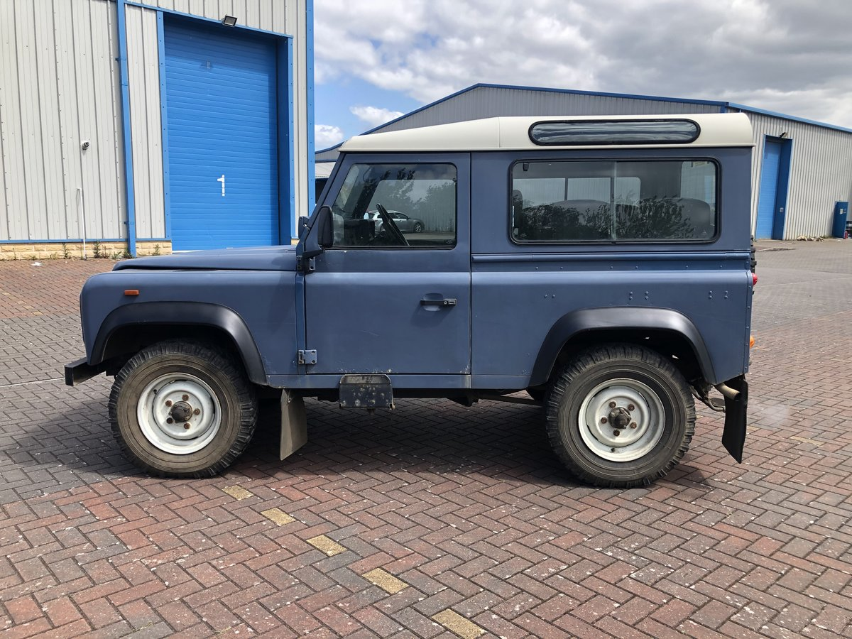 1989 Land Rover Defender 90 CSW V8 Factory Air Con For Sale (picture 2 of 6)