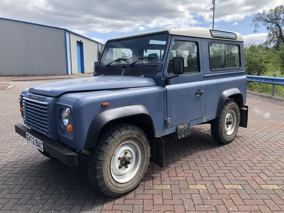 1989 Land Rover Defender 90 CSW V8 Factory Air Con For Sale (picture 6 of 6)