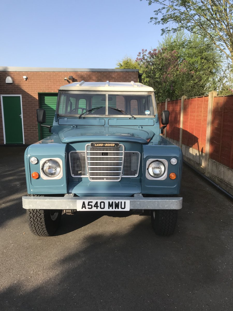 1983 Land Rover Series 3 immaculate condition For Sale (picture 1 of 5)
