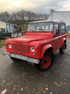 Land Rover Defender 85 V8 SWB Station Wagon