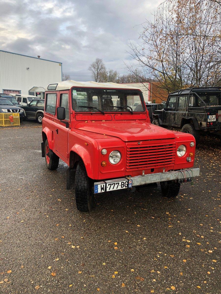 1985 Land Rover Defender 85 V8 SWB Station Wagon For Sale (picture 2 of 4)