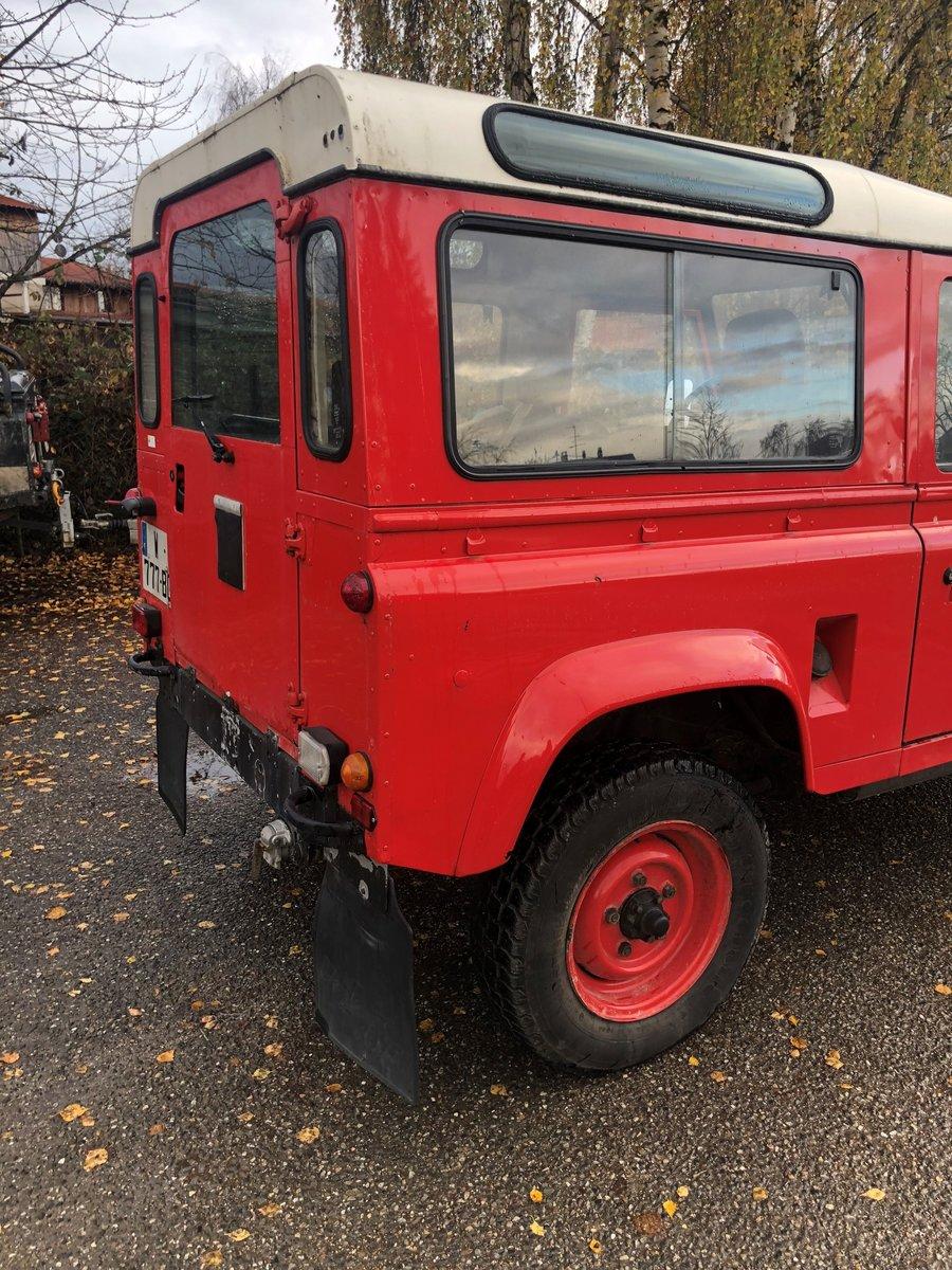 1985 Land Rover Defender 85 V8 SWB Station Wagon For Sale (picture 4 of 4)