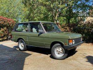 1989 Range Rover Classic 2 Door LHD (USA Eligible)