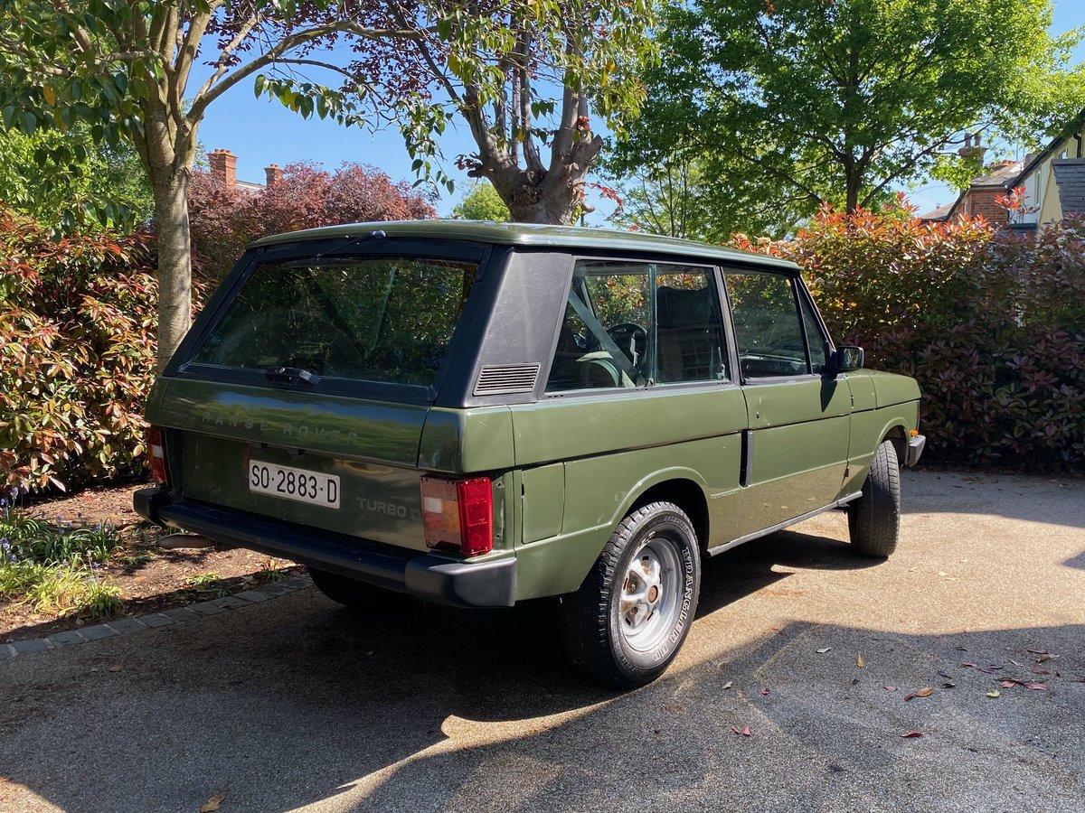 1989 Range Rover Classic 2 Door LHD (USA Eligible) SOLD (picture 2 of 6)