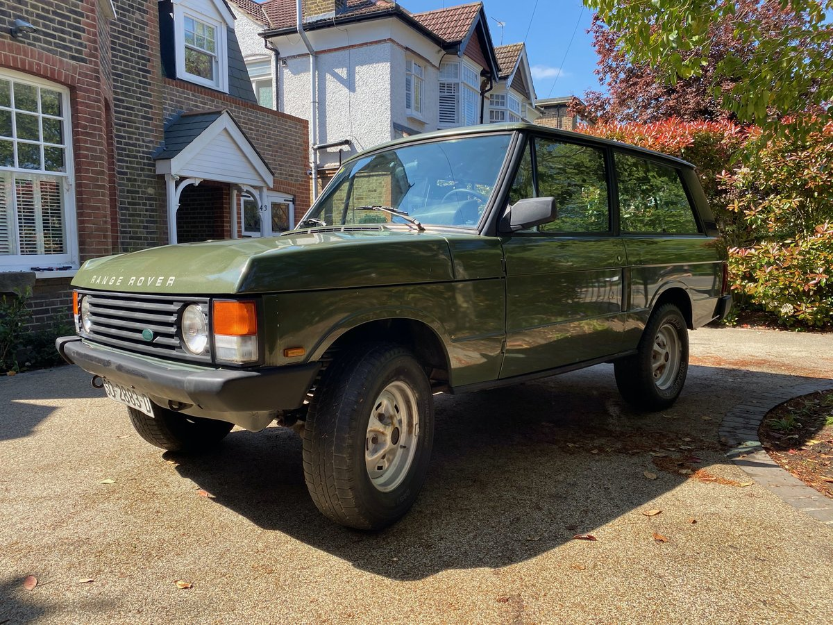 1989 Range Rover Classic 2 Door LHD (USA Eligible) SOLD (picture 3 of 6)
