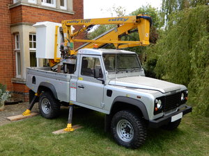 2005 Land Rover Defender 110 Cherry Picker