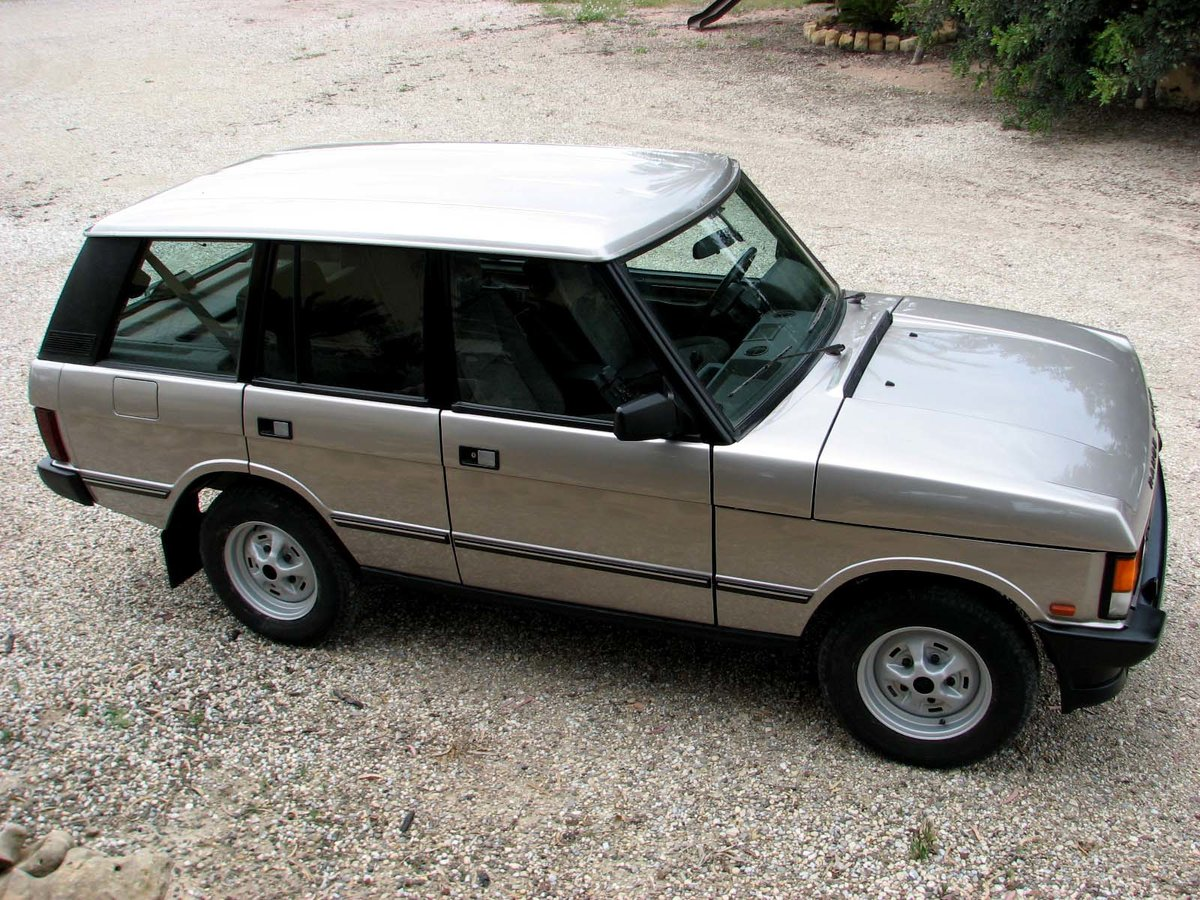 1993 Range Rover Vogue 3.9 V8 Manual - All Original FSH For Sale (picture 1 of 6)