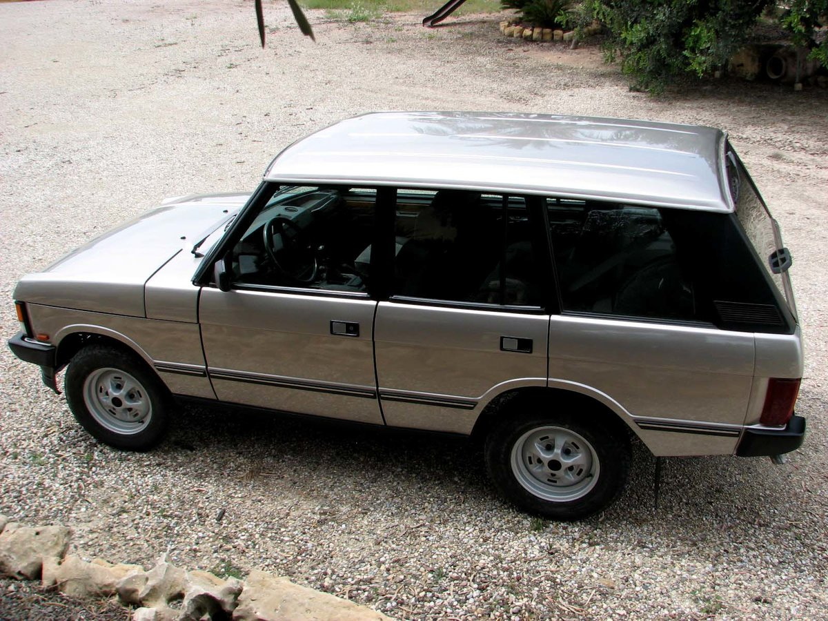 1993 Range Rover Vogue 3.9 V8 Manual - All Original FSH For Sale (picture 2 of 6)