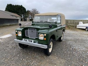 Picture of 1981 Land Rover® Series 3 *Petrol Ragtop 7 Seater* (PKK) SOLD SOLD